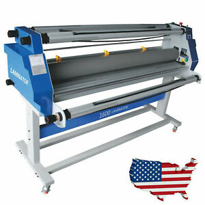 110v 60 64 65 Full auto Hot Cold Laminator Wide Format Laminting Machine