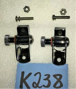 New 1949 1953 Mgtd Left Or Right Side Wind Wings Chrome Attachments K238