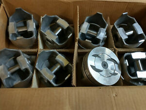 L2305f 040 Over Forged Pistons 302 Ford Dish Pistons