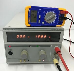Kenwood Pd18 20ad Regulated Dc Power Supply