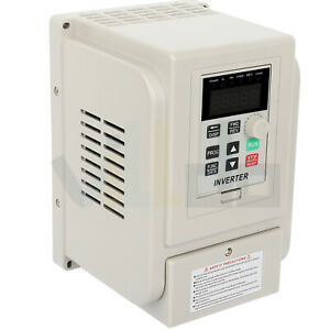 Variable Frequency Driver 3hp 220v 2 2kw Inverter Vfd Single To 3 Phase Output