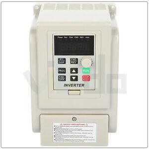 Variable Frequency Driver 5hp 220v 4kw Interver Vfd Single To 3 Phase Output