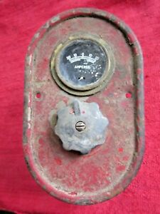Farmall Mccormick Ih Tractor Switch Amperes Gage Panel