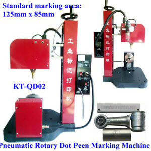 Used Pneumatic Dot Marking Engraver Machine Name Plate Part Marking Tags