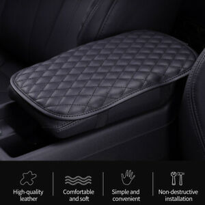 Universal Pu Leather Car Armrest Pad Center Console Box Cover Cushion Protector