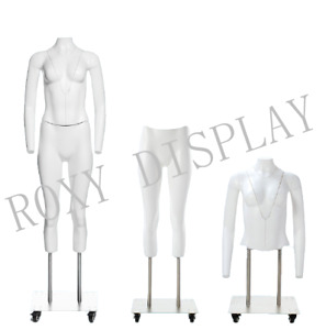 Female Invisible Ghost Mannequin Manikin Display Dress Form ps gh1 ps