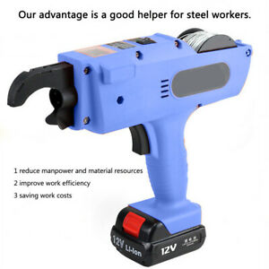 Automatic Rechargeable Electric Handheld Construction Site Binding Machine Tools