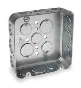 Raco 247 Electrical Box square 4 11 16 In