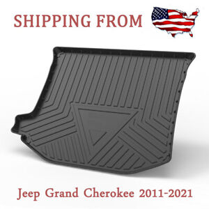 Fit For Jeep Grand Cherokee 2012 2021 Duty Rear Cargo Liner Tray Trunk Floor Mat