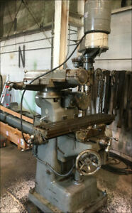 Fray All Angle Milling Machine W Horizontal Vertical Spindles