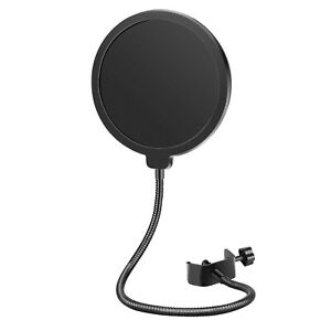 Neewer Professional Microphone Pop Filter Mask Shield Compatible with Blue Yeti $9.50
