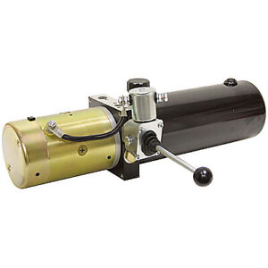 12 Volt Dc 1 3 Gpm 2500 Psi Spx Sa Lever Power Pack Spx Db 1475 9 1478