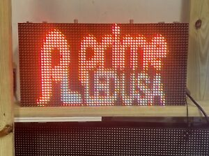 Double Sided Outdoor Programmable Led Sign Full Color Dip P10 12 5 X 25 25