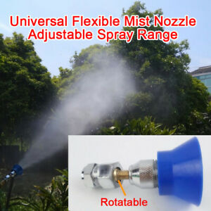 Stainless Steel Universal Flexible Mist Nozzle Agricultural Atomizing Sprayer N