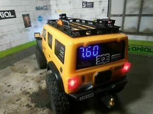 Scx24 2 Cell Lipo And Lihv Rc Volt Meter Mini t 2 0 And Many Other 2s Models