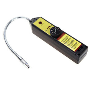 Portable Car Air Conditioner Ac Freon Halogen Gas Leak Detector With Probe