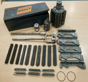 Ammco Self Lube Cylinder Hone Models 500 350 In Original Tin Case Pre Owned