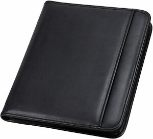 Professional Resume Padfolio With Secure Zippered Closure 10 5 X 13 Inches Sle