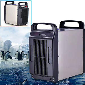 8l Cw3000 Small Water Chiller Machine For Under 80w Co2 Glass Laser Tube
