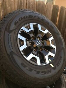 Toyota Tacoma Trd Off Road Rims And Tires Set Of 4