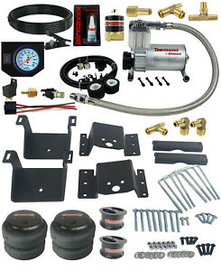 Air Tow Kit White In Cab Control Fits 4 Lifted 2011 17 Chevy 2500 3500 Truck