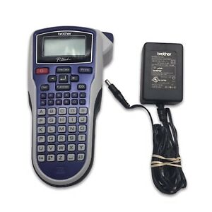 Brother P touch Label Maker Thermal Printer Model Pt 1010 W Power Cord Tested