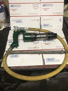Chicago Pneumatic Handheld Chipping Hammer Cp 4123 With Tip And Hose Demo Hammer