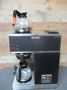 Bunn 33200 0001 Vpr Commercial Pour over Coffee Maker W 2 Decanters