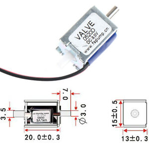 Dc 3v Mini Electric Dc Solenoid Valve N c Normally Closed For Gas Air Valve G_fd