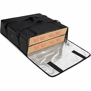 Insulated Pizza Delivery Bag 20 inch By 20 inch By 6 inch 20 x20 x6