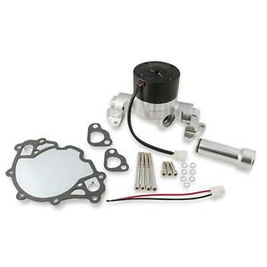 Frostbite 22 137 Billet Electric Water Pump Sbf 50 Gpm Polished