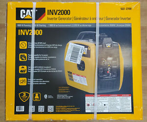Cat Inv2000 1800w Gas Powered Portable Inverter Generator Brand New Sealed