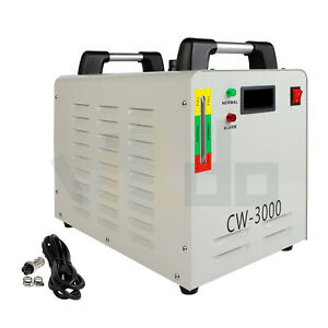 9l Industrial Water Chiller 110v Suitable For 60 80w Co2 Glass Tube