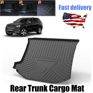 For 2012 2021 Jeep Grand Cherokee Tpo Rear Trunk Cargo Floor Mat Liner Pad Fits