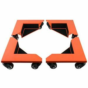 Desk Cabinet Corner Mover Dolly Furniture Dollies Roller With 1380 Lb Load