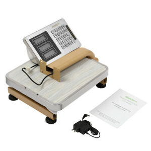Industrial Platform Scale 176lb Digital Shipping Floor Accurate Memory Recharge