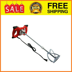 2100w Electric Hand held Concrete Mixing Drill Bit Portable Cement Mixer With