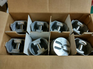 283 Chevy Forged Pistons L2163f Standard Bore Flat Tops