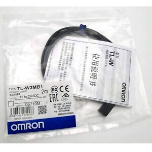 Omron Tl w3mb1 Tlw3mb1 Inductive Proximity Switch Sensor Dc 3 wire Model Plc New