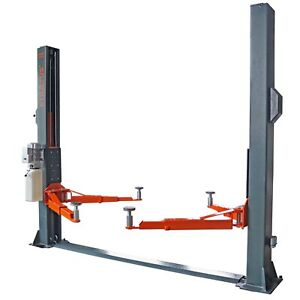 Stratus 2 Post Floor Plate 10000 Lbs Single Point Manual Release Lift Sae F10p