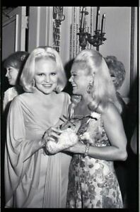 Legend Peggy Lee with busty friend at party Original 35mm Camera Negative $19.99