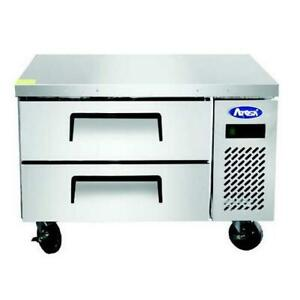 Atosa Mgf8448gr 36 Single Section Stainless Steel Chef Base