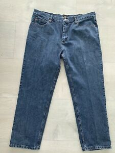 Lee Mens Jeans Dark Blue Relaxed Fit 40x30 $15.00