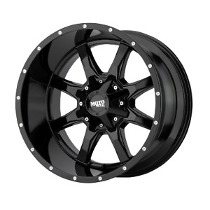 16 Inch 8x65 4 Wheels Rims Moto Metal Mo970 16x8 0mm Gloss Black With Milled