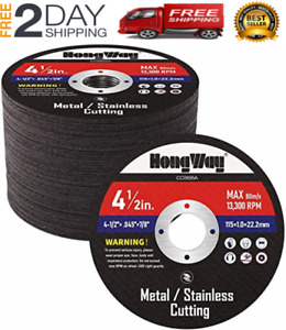 Thin Metal Cutting Disc For Angle Grinder 20 Pack 4 1 2 7 8 in