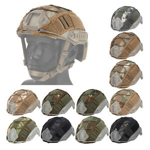 Multicam Helmet Protective Cover Protector No Helmet for Paintball Army Fast $10.13