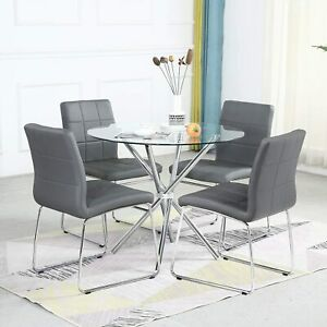 Round Dining Table Set modern Kitchen Table And Chairs dining Room Table Set