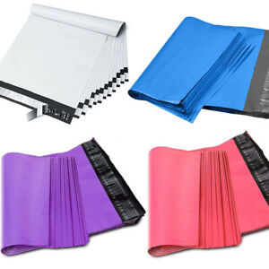500 Bags 10x13 Poly Mailers Shipping Envelopes Mailing Bags Self Sealing 2 5 Mil