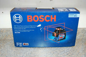 New Bosch 200 360 3 plane Leveling Alignment line Laser Gll3 300g Ships Free