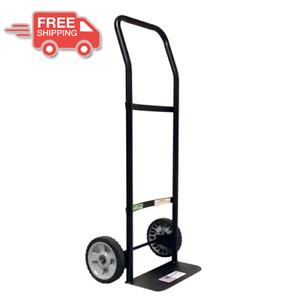 Hand Truck Dolly 300 Lb Capacity Heavy Duty Metal Lightweight Roll Moving Cart